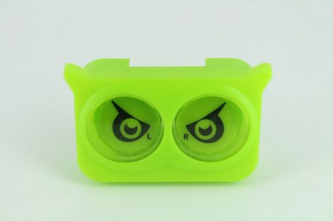Colorful Eyes contact lens storage Set, Color: green