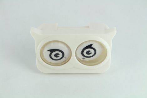 Colorful Eyes contact lens storage Set, Color: white