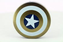 Captain America contact lens storage kit, Color: gold